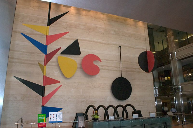 Calder embellishes Sears Tower Lobby with The Universe