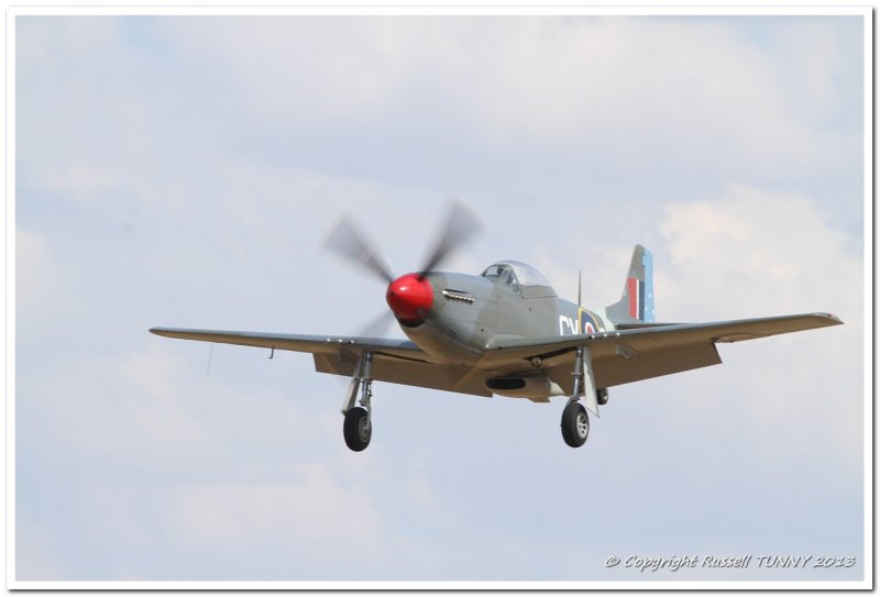P-51D on Approach