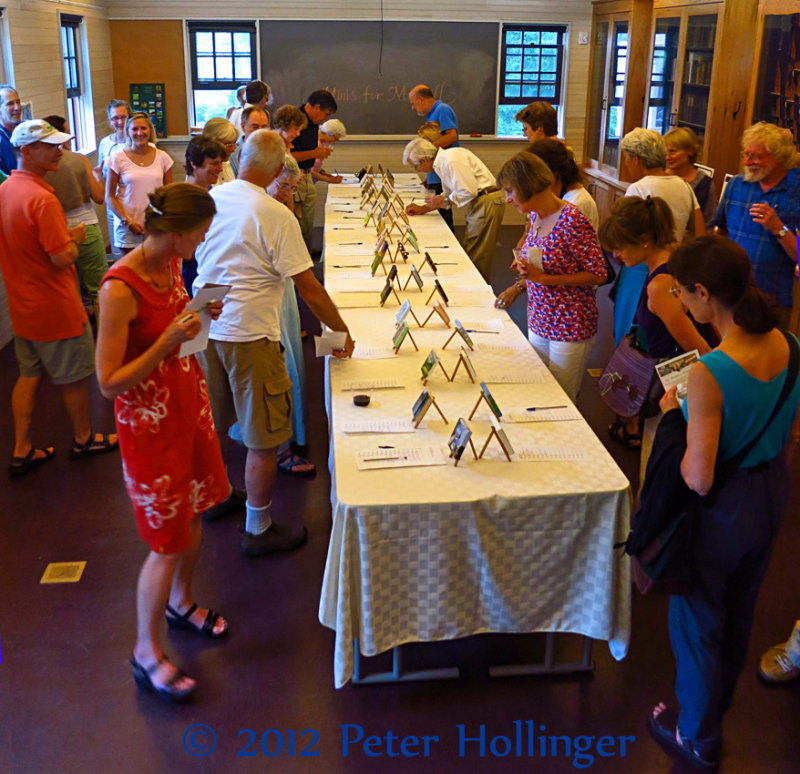 Therese and the Silent Auction
