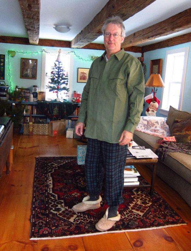 Peter on Christmas Morning