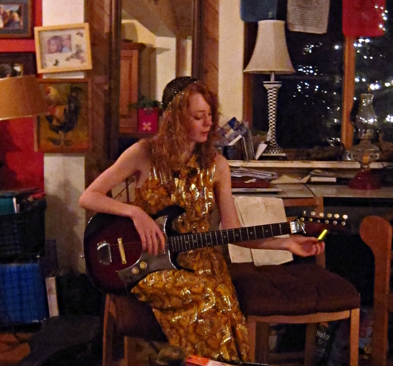 Charlottes New Guitar
