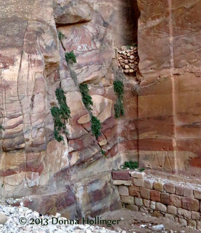 Inscriptions and Layers, Petra Ruins Jordan