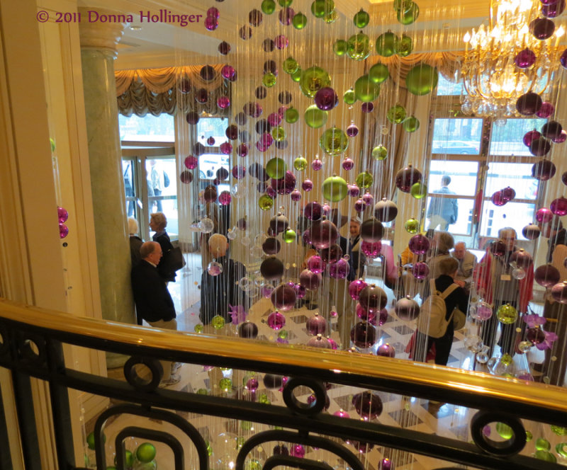 Four Seasons Lobby in Cairo