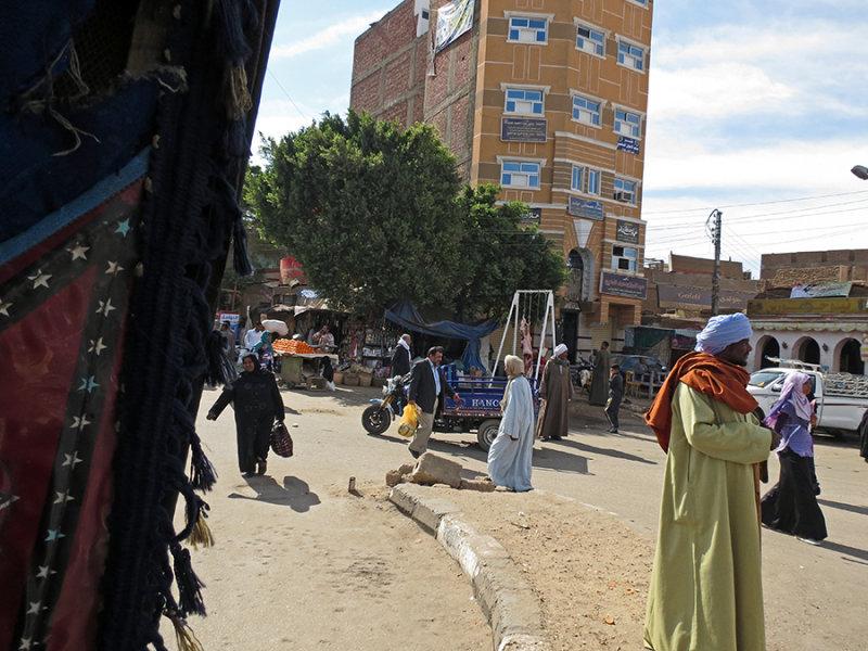 Country Street Scene in Edfu