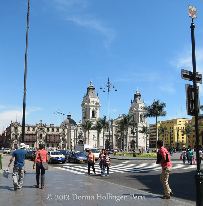 Old section of Lima