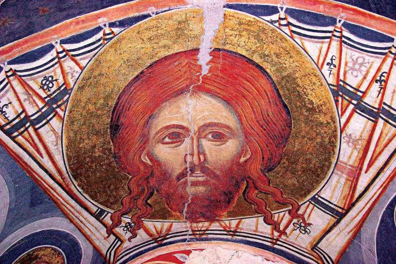 New Version of   Veronicas Veil  Face of Christ, Probota Icon