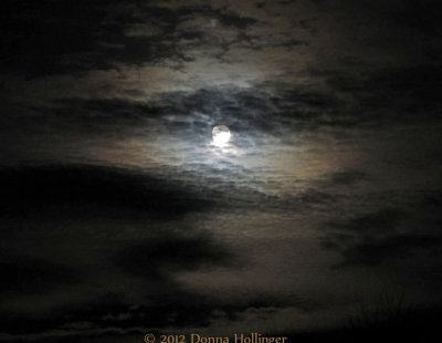 The Moon Before Sandy