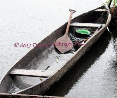Amazonian Dugout Canoe