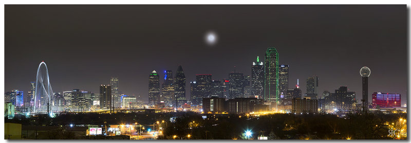 Dallas Skyline Pano 1