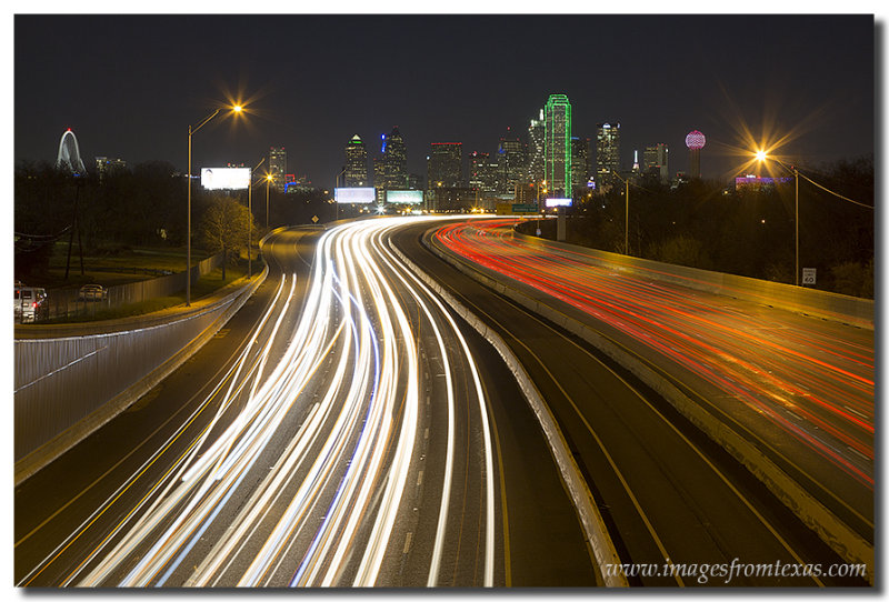 Dallas Skyline Image from I-30 2