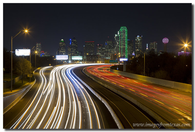 Dallas Skyline Image from I-30 1