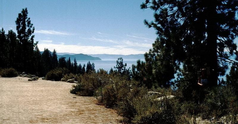 View onto Lake Tahoe