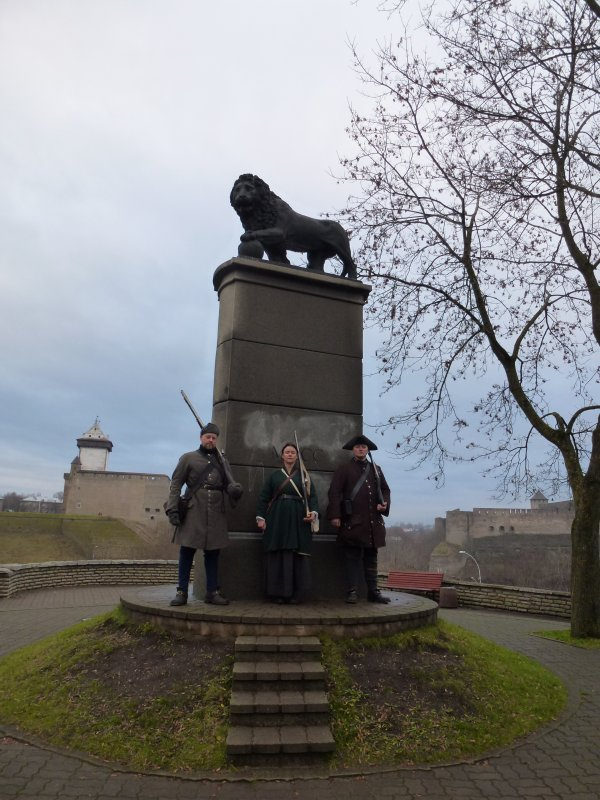 Lejonmonumentet i Narva