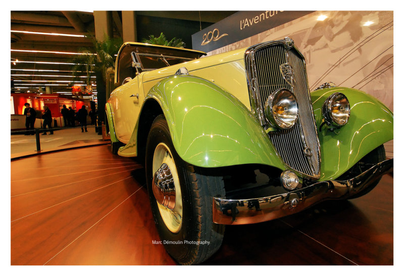 Peugeot 601 Eclipse 1935, Paris 2010