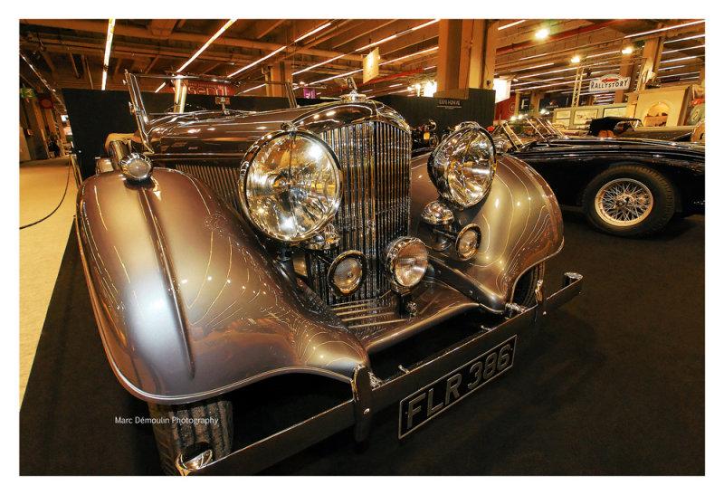 Bentley 4,5 Litre MX Open Tourer Vanden Plas 1939, Paris 2010