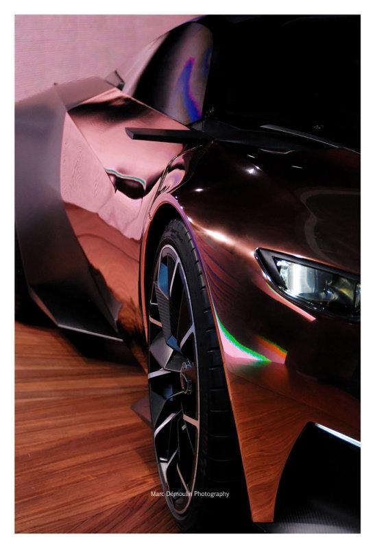 Peugeot Concept Onyx 2, Paris 2012