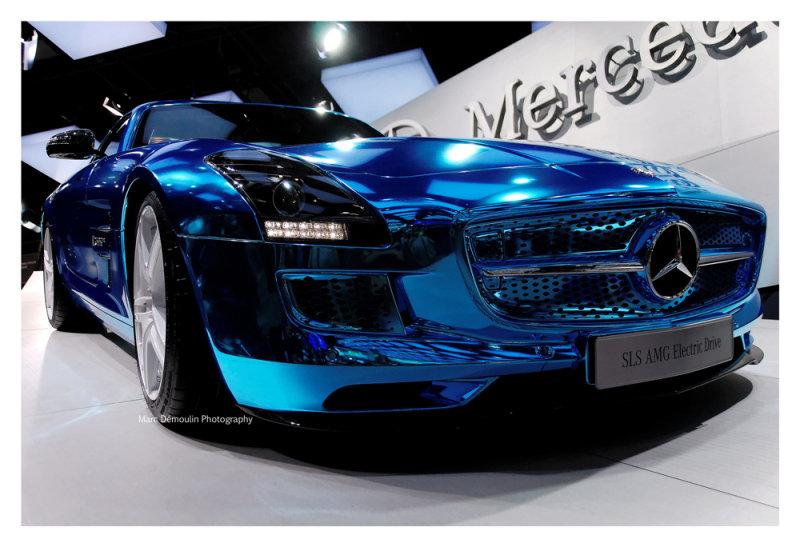 Mercedes SLS AMG, Paris 2012