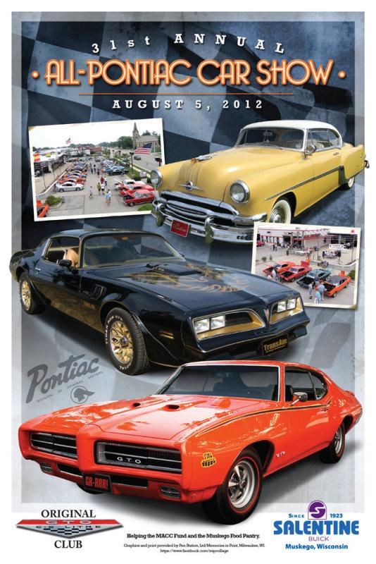 Event poster for Pontiac Show