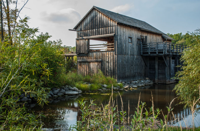 Herrling Sawmill at the Wade House Historic Site