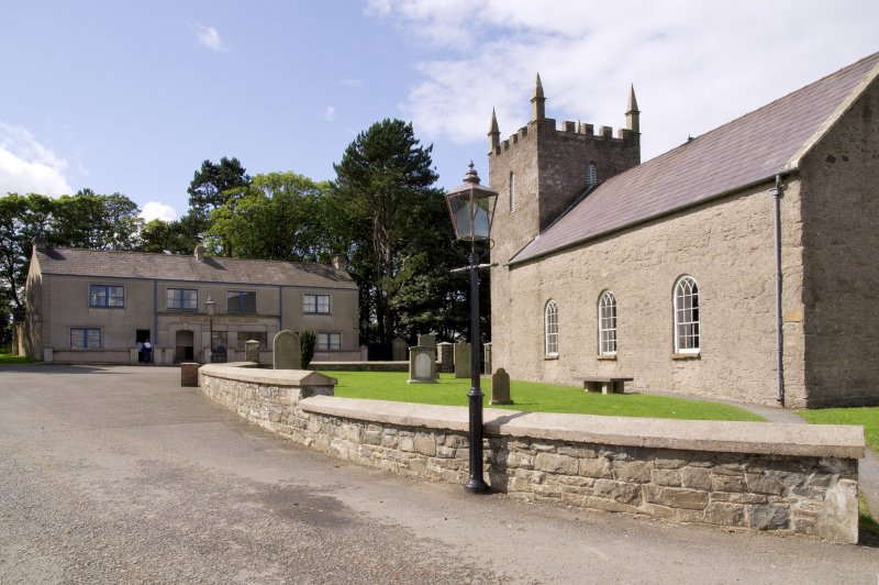 Anglican Church. Dates from 1790