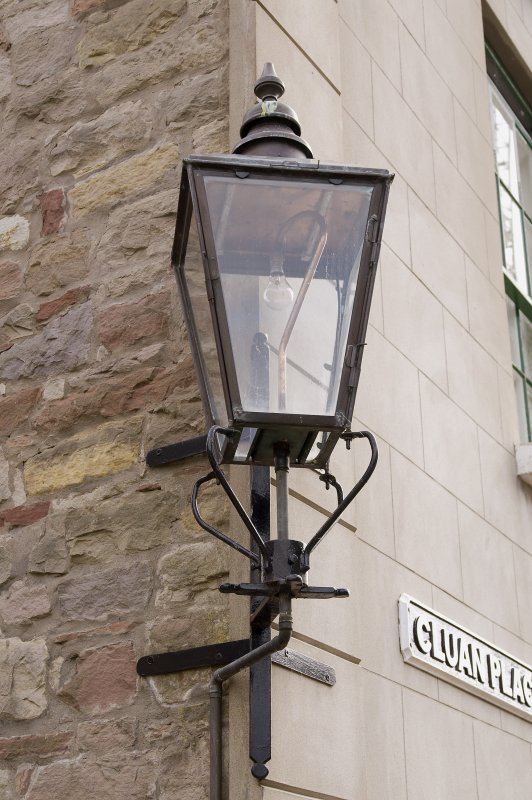 Gas lamp (converted to electricity)