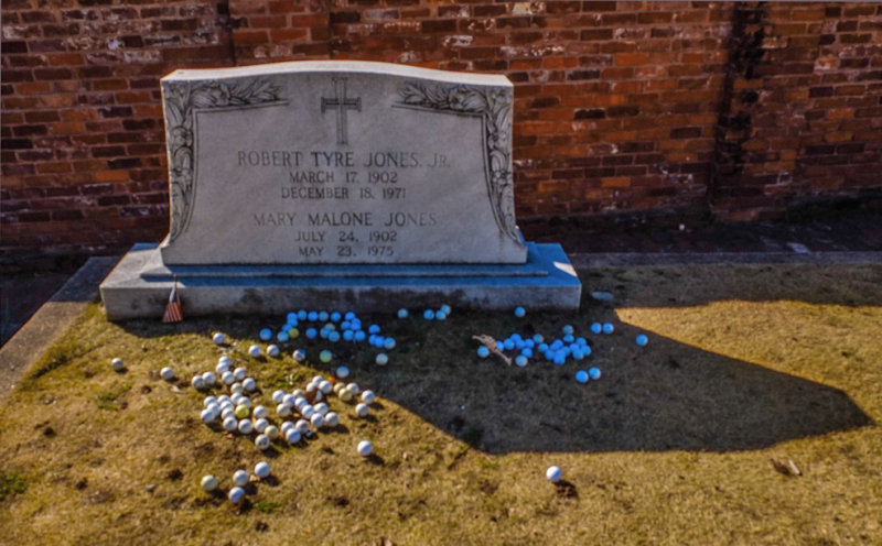 In tribute to Bobby, Oakland Cemetery, Atlanta, Georgia, 2013