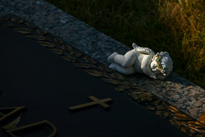 Gravesite, Graceland, Memphis, Tennessee, 2012