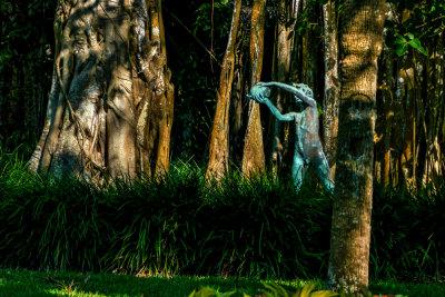 Banyan Garden, Ringling Estate, Sarasota, Florida, 2013