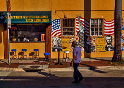 Freedom, Little Havana, Miami, Florida, 2013