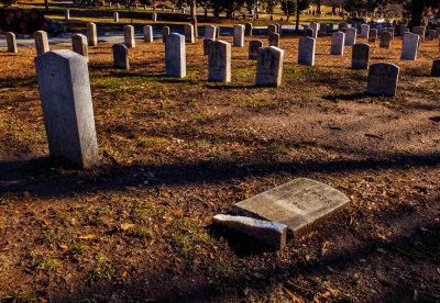 The fallen, Oakland Cemetery, Atlanta, Georgia, 2013