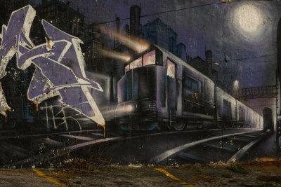 Night Train, Little Five Points, Atlanta, Georgia, 2013