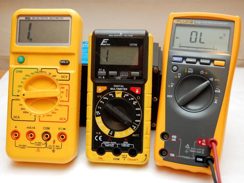 Multimeter Dial Symbols : Testing your galvanic isolator sailnet community