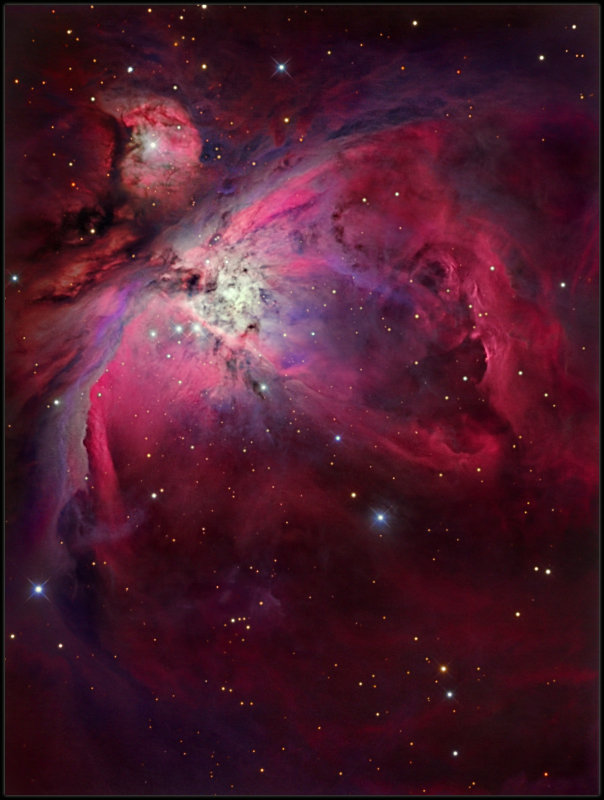 M 42 - 8 RC First light