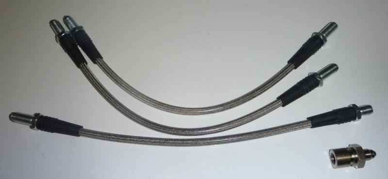 Moss Stainless Hose set