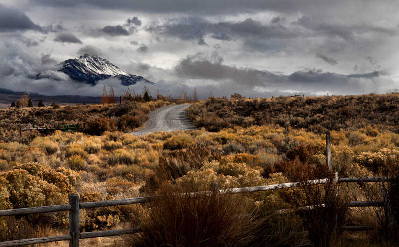 2012 Fence, Road, & Mountain
