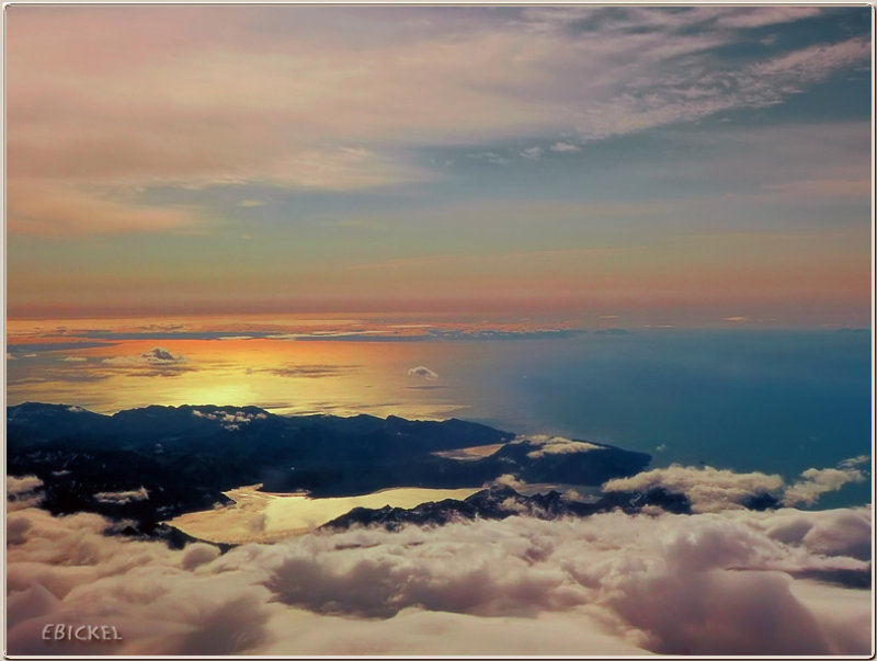 Sunrise from the Air