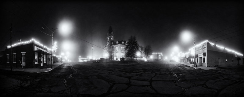 Albany Courthouse in Fog