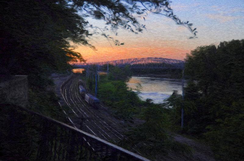 Jefferson Landing Railyard