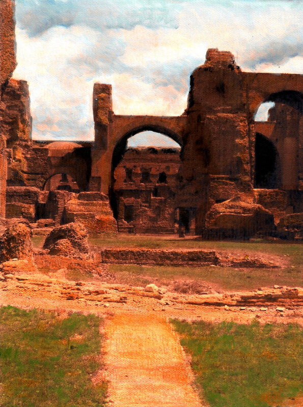 Roman Ruins - Corazon Health Spa