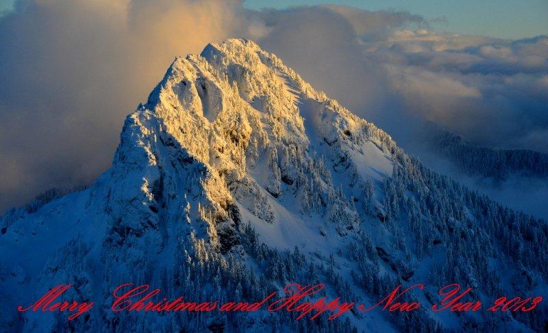 Mc Clain Peaks Cascade Mountains Washington PNW