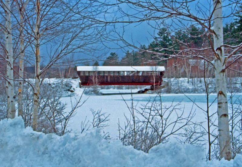 Bridge @ West Cove, Eastman - Winter
