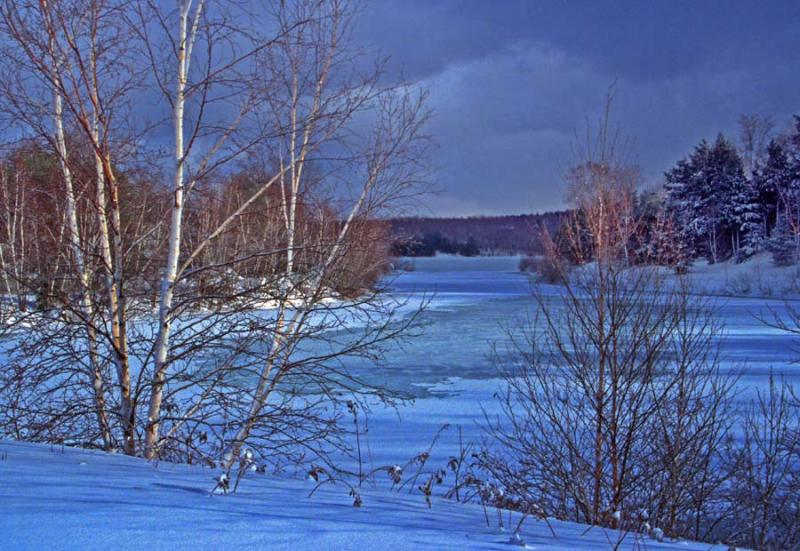 West  Cove in Winter @ Eastman
