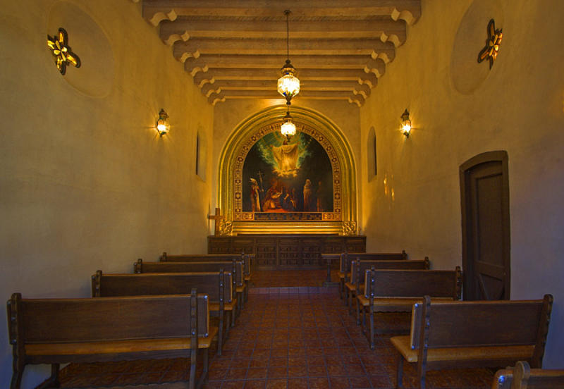 Inside the Small Chapel