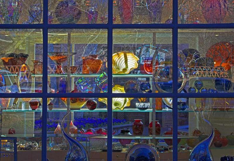 Glass Shop Window