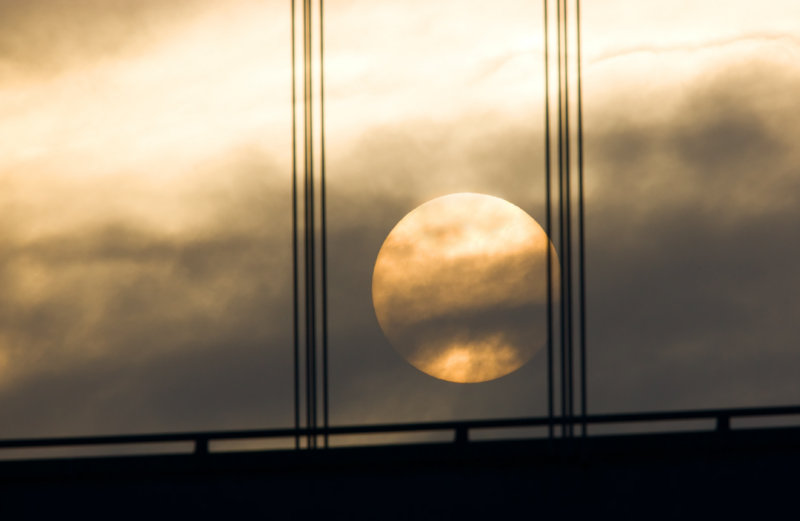 Hoan Bridge Sunset