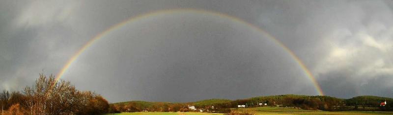 Regenbogen in Ofenbach, Lanzenkirchen
