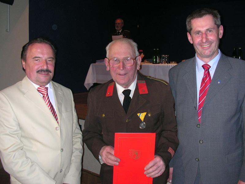 60 Jahre FF Frohsdorf: Alois Preineder