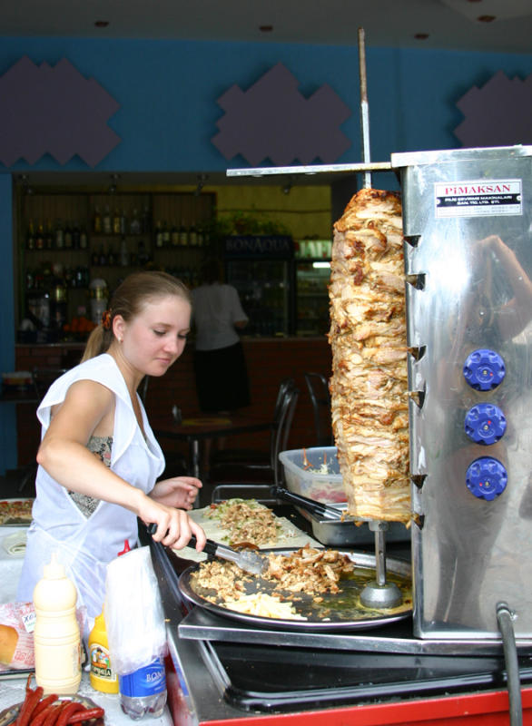 Shawarma maker - Yalta, Ukraine