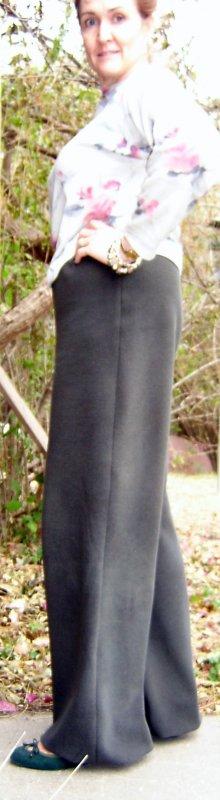 Fleece Pants Side