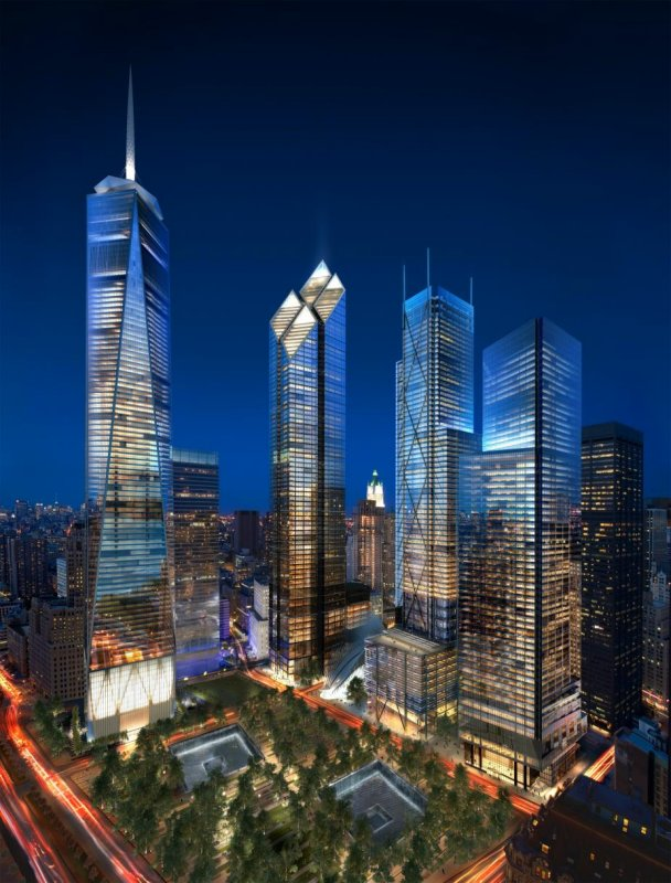 NEW YORK | 200 Greenwich   2 WTC | 1,270 FT | 80 FLOORS [Archive]    SkyscraperPage Forum